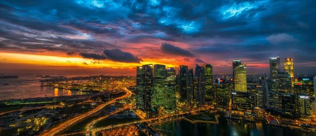 Peking city view
