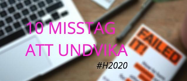 10 misstag_h2020